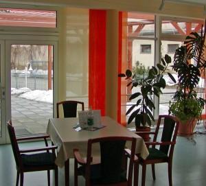 """Seniorenpflegezentrum """"Am Kottmar"""" - Gemütlichkeit wird groß geschrieben. Die eingerichteten Plauderecken laden zum Verweilen und Ausruhen."""